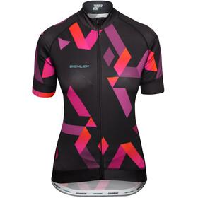 Biehler Expert Kortärmad cykeltröja Dam pink/svart